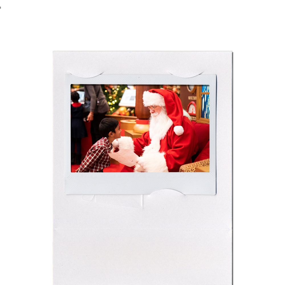 Unfolded Light Strings Instax Easel frame