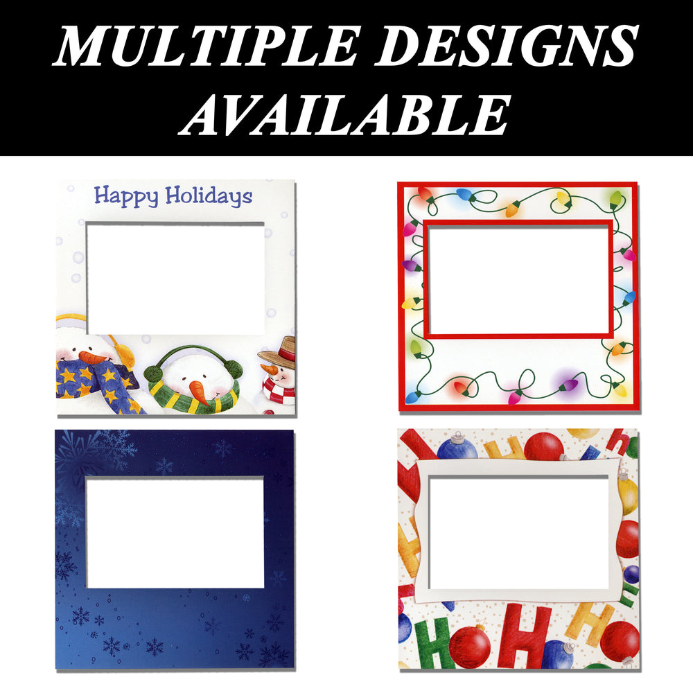 Holiday themed Instax Easel frames