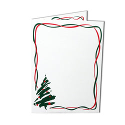 Christmas Tree Folder White