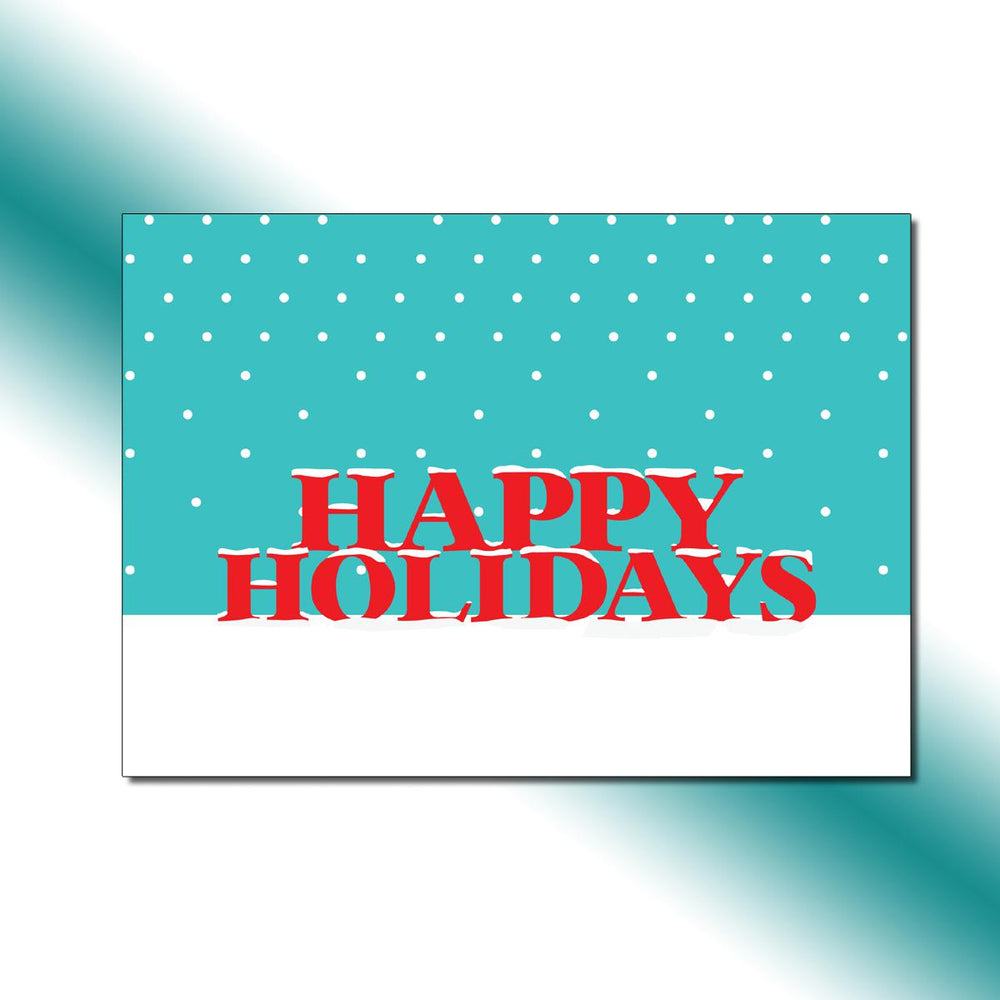 Single-side Snowfall Greeting Card