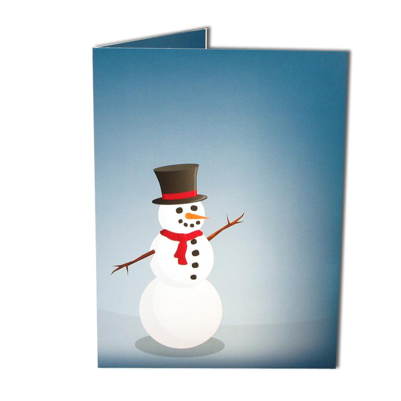 Joyful Snowman Folder frames