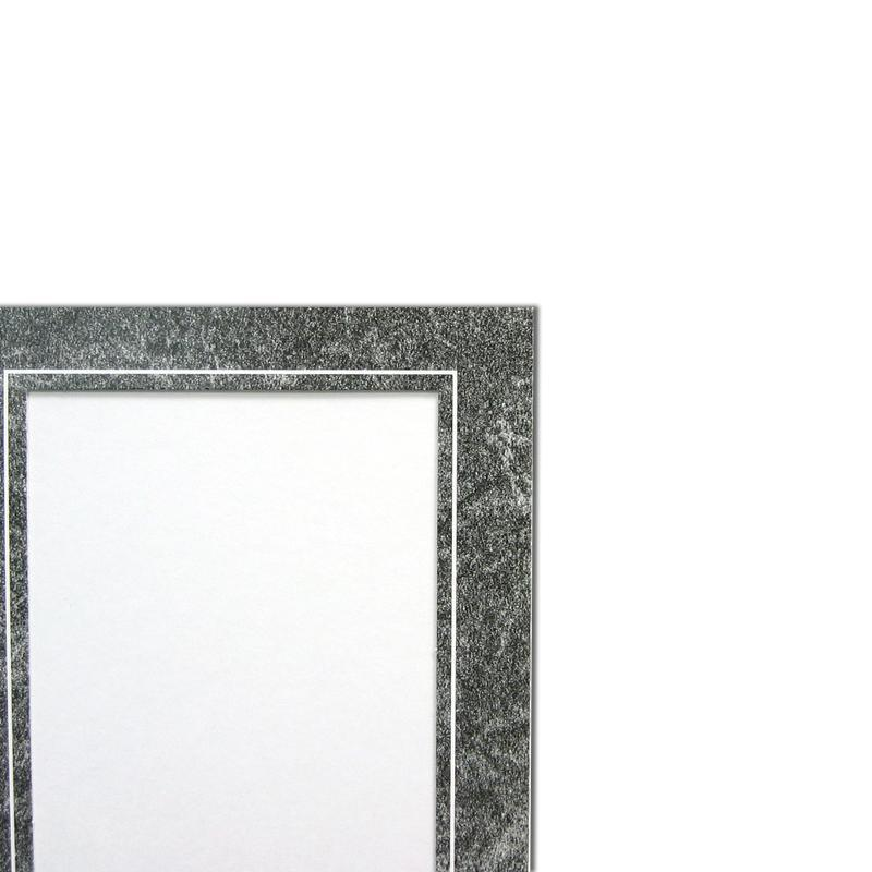 Marble/White Memory Mate Easels with white trim