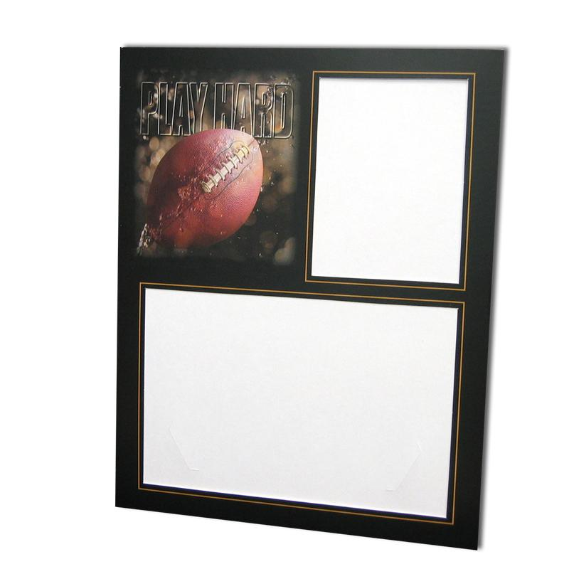 Football themed Focus Sports Series Easels memory mates