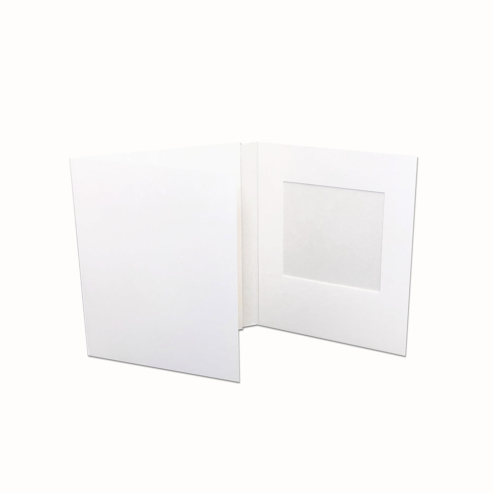 White Polaroid Folder frame