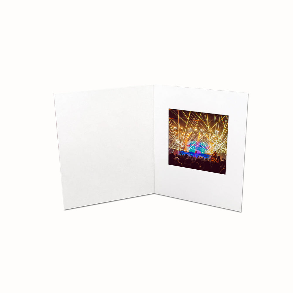 3x3 white Polaroid Folder frame