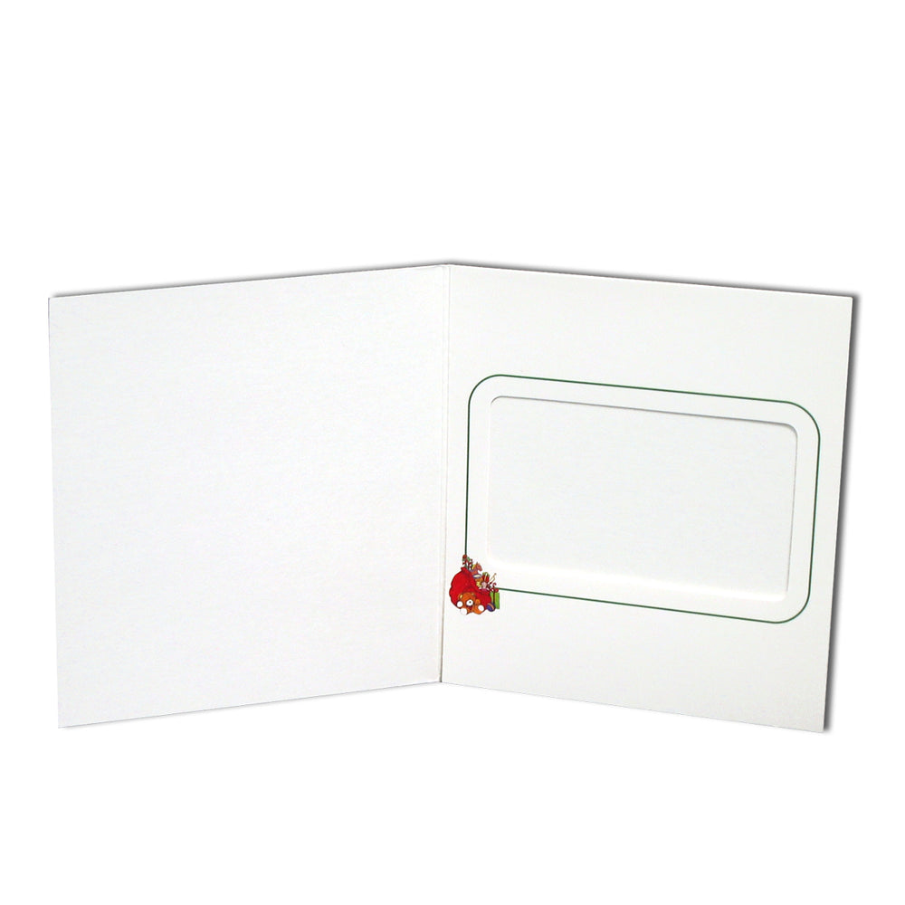 3.9x2.4 Santa's Chair Instax Folder frame