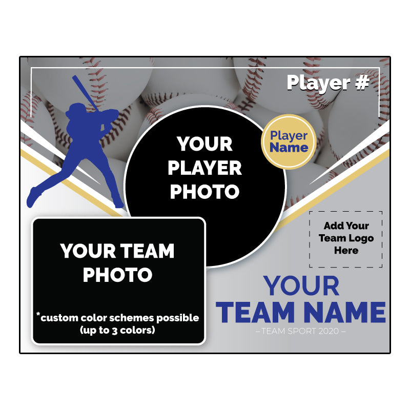 Custom baseball Digital Memory Mate