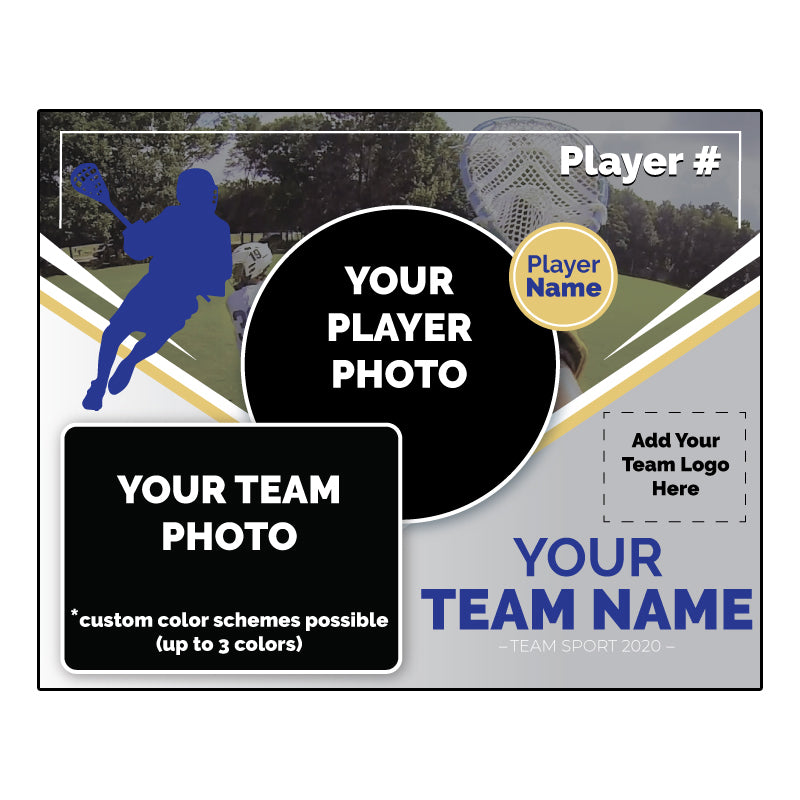 Custom lacrosse Digital Memory Mate