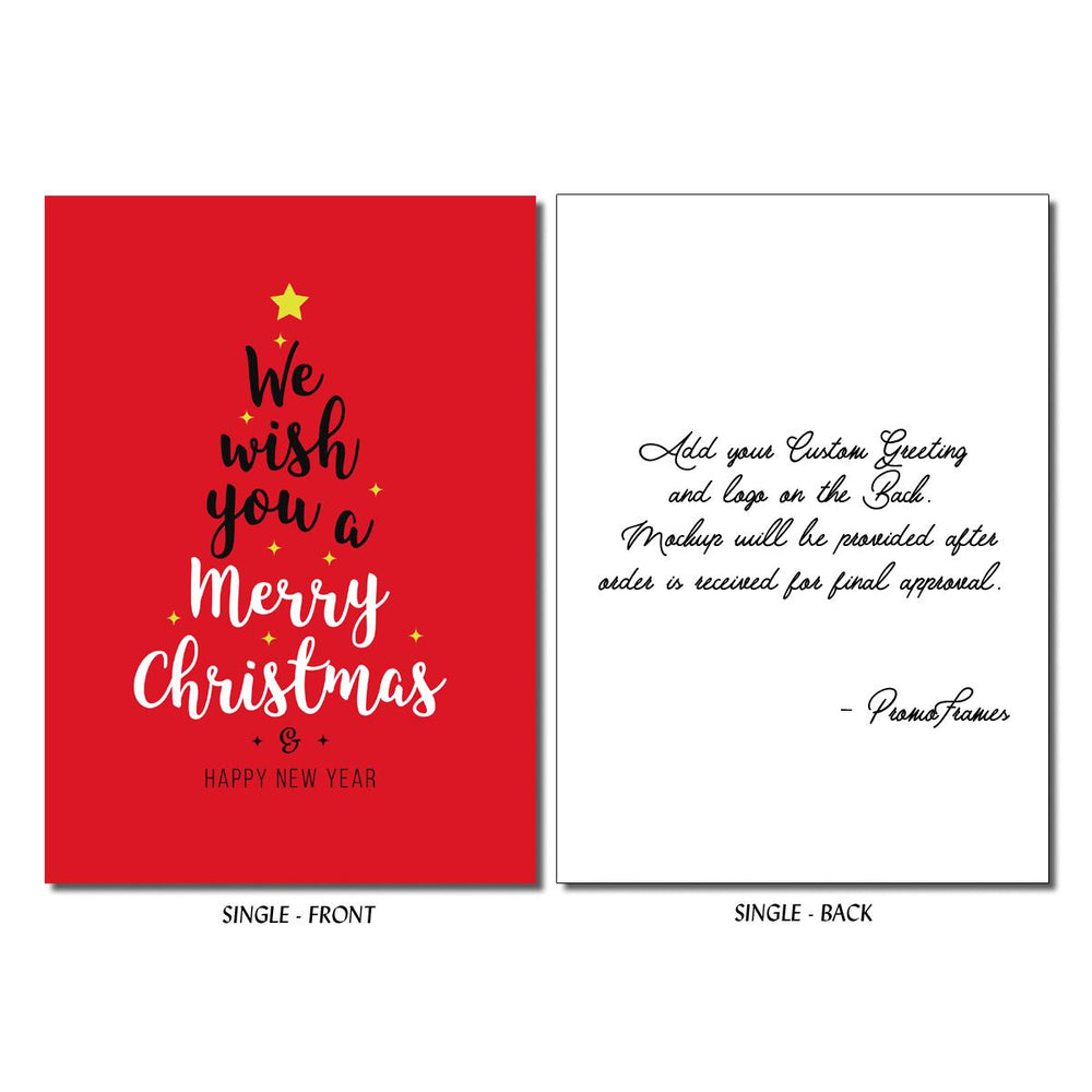 Front and back of Wish Tree Greeting Card