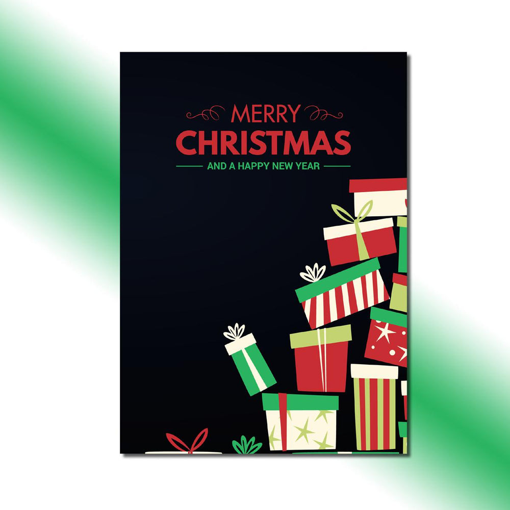 Pile of Presents Greeting Card - Single