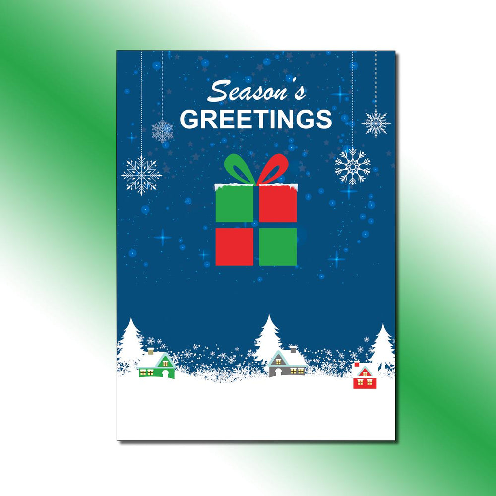 Single-side Gift Box Greeting Card