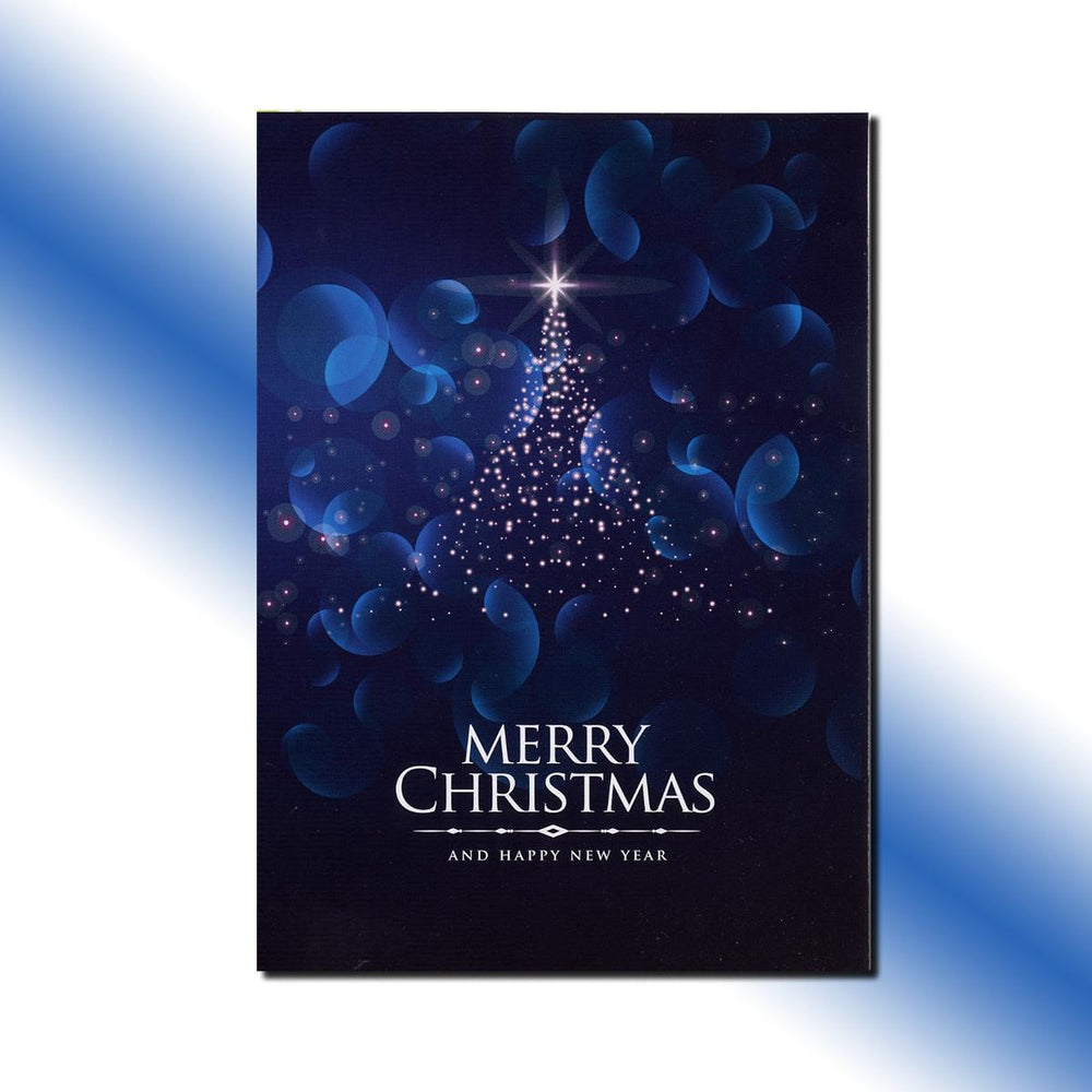 Single-side Northern Star Greeting Card
