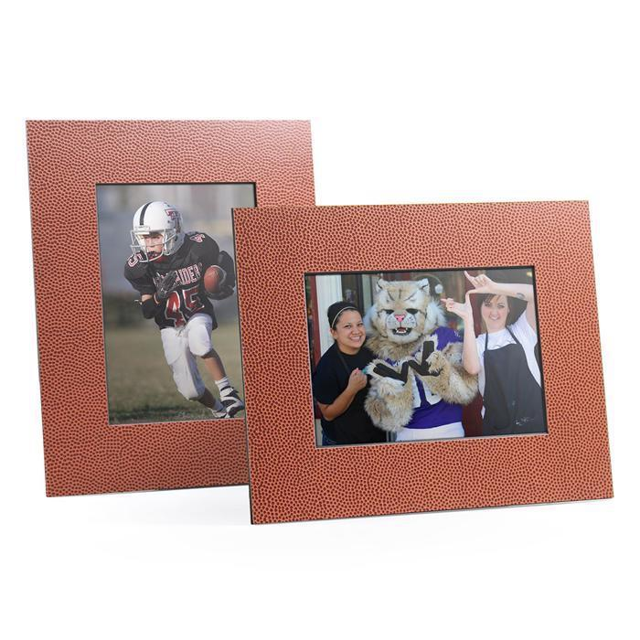 4x6, 5x7 or 8x10 Football themed Angle Cut Easel Sports Series frames