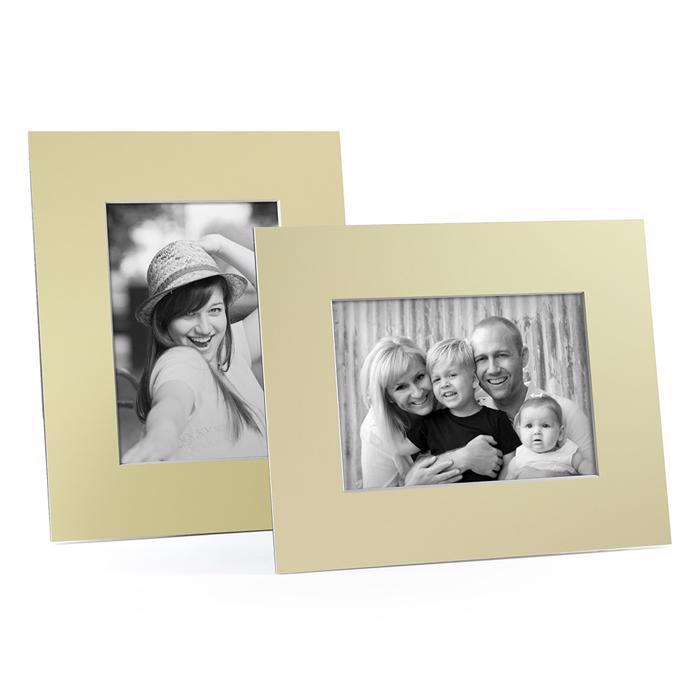 4x6, 5x7 or 8x10 Yellow Angle Cut Easel Series frames