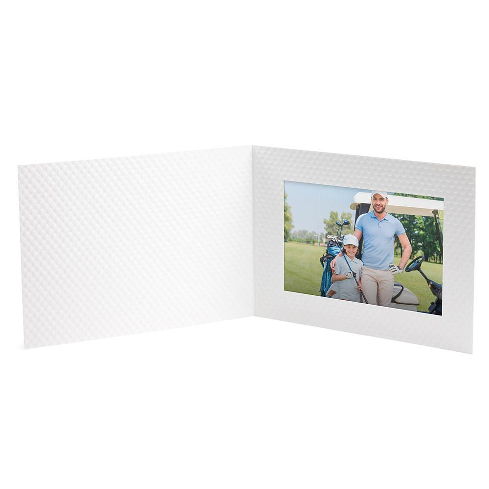 6x4 Golf Ball Dimple Folder frames