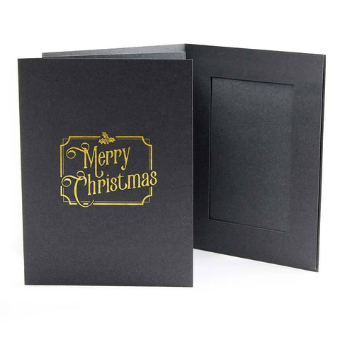 EconoBright Folders Stamped Series - Merry Christmas