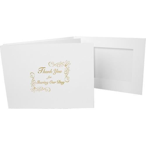 6x4 EconoBright Folders Stamped Series with Sharing Our Day foil stamp