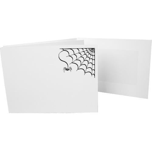 6x4 EconoBright Folders Stamped Series with spiderweb foil stamp