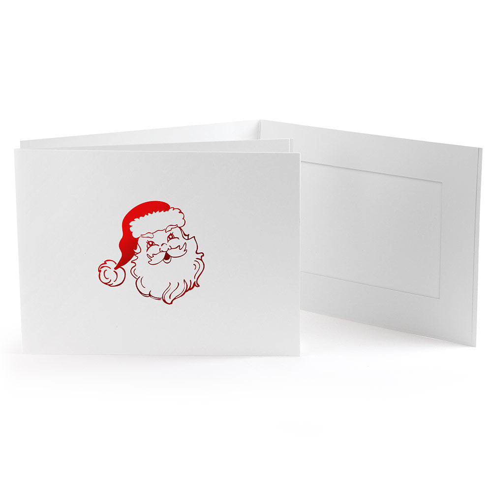 6x4 EconoBright Folders Stamped Series with Santa foil stamp