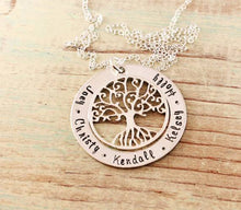 Load image into Gallery viewer, Family Roots Loop Necklace