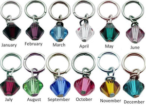 Large Stainless Add-On Birthstone
