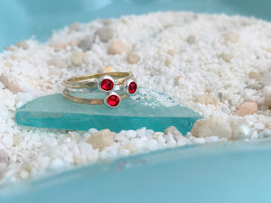 Delicate Birthstone Ring