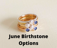 Load image into Gallery viewer, Delicate Birthstone Ring