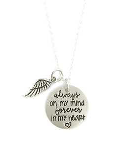 Always On My Mind Personalized Necklace