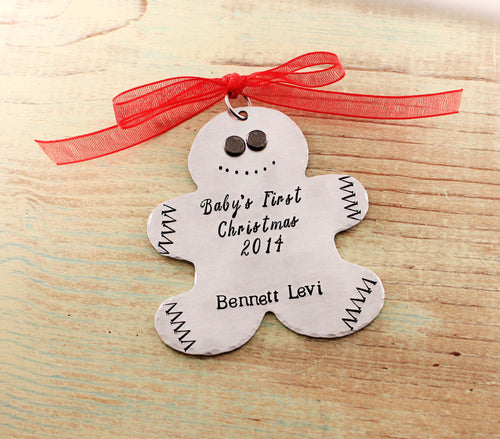 Baby's First Christmas Gingerbread Man Ornament