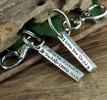 Load image into Gallery viewer, Dad 4-Sided Bar Keychain