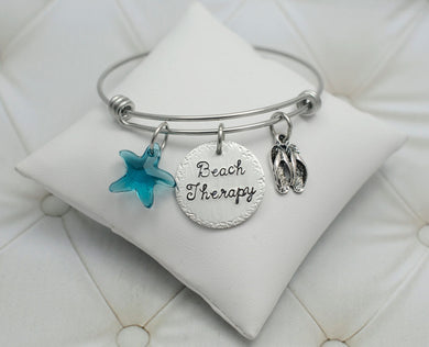 Beach Therapy Bangle Bracelet