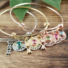 Load image into Gallery viewer, Custom Mom Bangle - Choose A Color