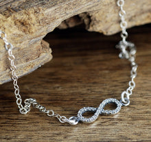 Load image into Gallery viewer, Elegant Infinity Necklace - Choose A Color
