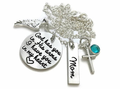 God Has You In His Arms Necklace