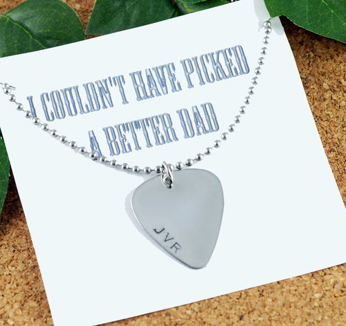 Couldn't Have Picked A Better Dad Keepsake Necklace