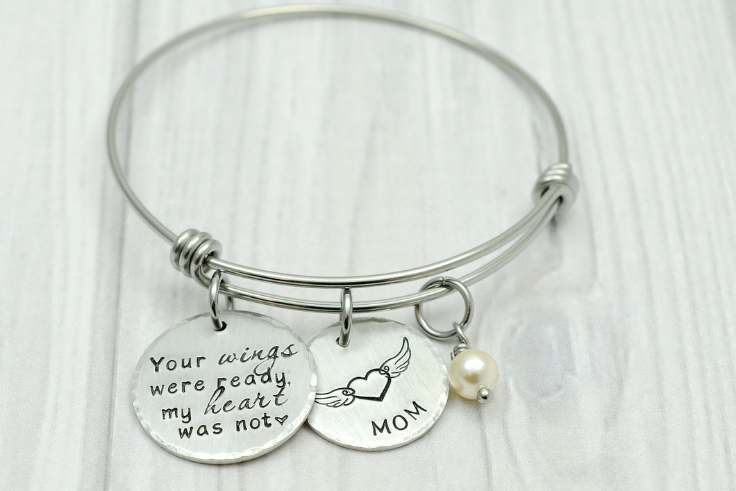 Your Wings Memorial Bangle