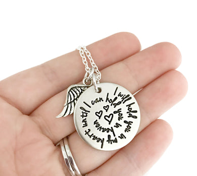 Hold You In My Heart Spiral Necklace