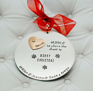 Home Is Where The Heart Is Ornament