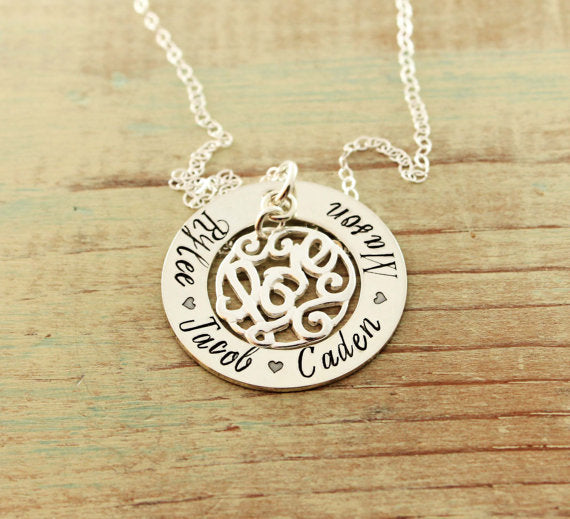 Love Charm Loop Necklace