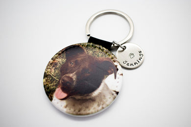 Actual Photo Keychain