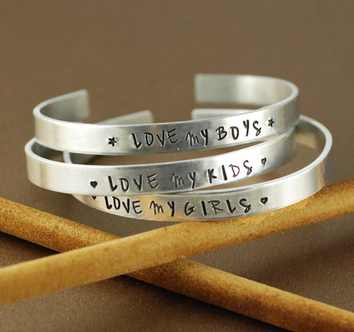 Love My Kids Cuff Bracelet 1