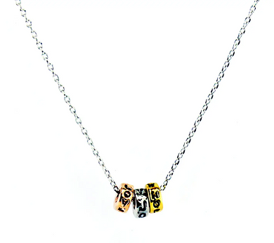 Love, Joy, Hope Necklace