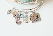 Load image into Gallery viewer, Mermaid Bangle Bracelet