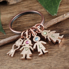 Load image into Gallery viewer, Mom And Child Keychain - Choose A Color