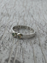Load image into Gallery viewer, Personalized Multiple Birthstone Ring