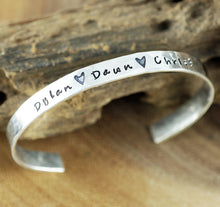 Load image into Gallery viewer, Personalized Cuff Bracelet