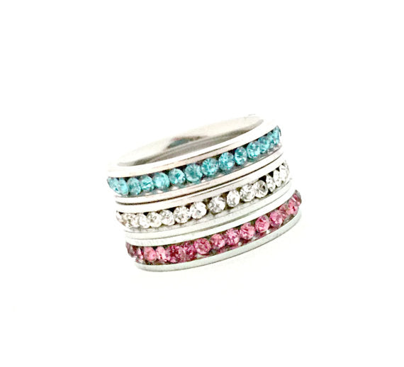 Stacking Birthstone Ring