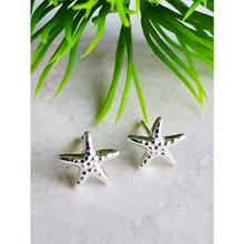 Load image into Gallery viewer, Sterling Silver Starfish Earrings