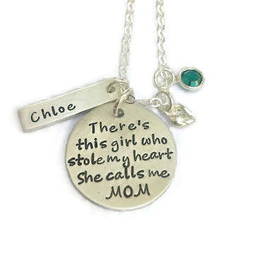 There's This Girl Personalized Necklace