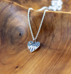 Sterling Silver Wanderlust Necklace